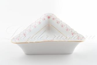 Салатник треугольный 17см,21см,25см.