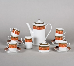 Сервиз кофейный Сабина 15 предметов 0979