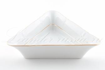 Салатник треугольный 17см,21см,25см. 1139