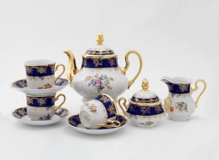 Сервиз чайный 15 предметов 0086