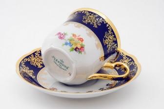 Набор чайных пар  0,2л.  6 шт