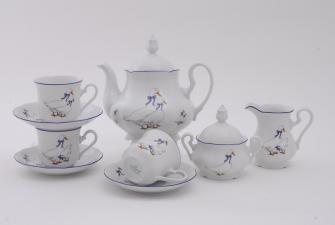 Сервиз чайный 15 предметов 0807
