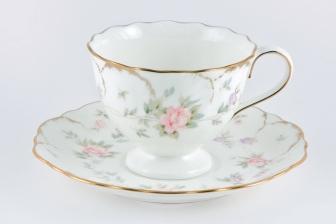 Набор чайных пар  0,25л. 6 шт