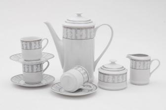 Сервиз кофейный Сабина 15 предметов 1013