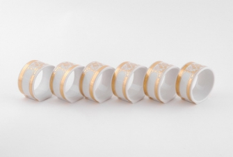 Набор колец для салфеток 6шт  1373