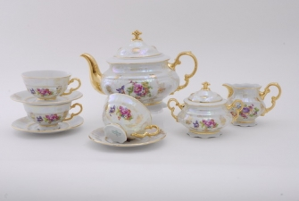 Сервиз чайный 15 предметов на 6 пресон 0656