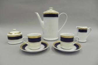 Сервиз кофейный Сабина 15 предметов 0767