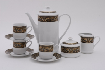 Сервиз кофейный Сабина 15 предметов 172B