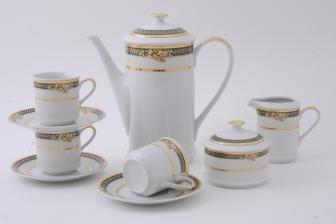 Сервиз кофейный Сабина 15 предметов 0711